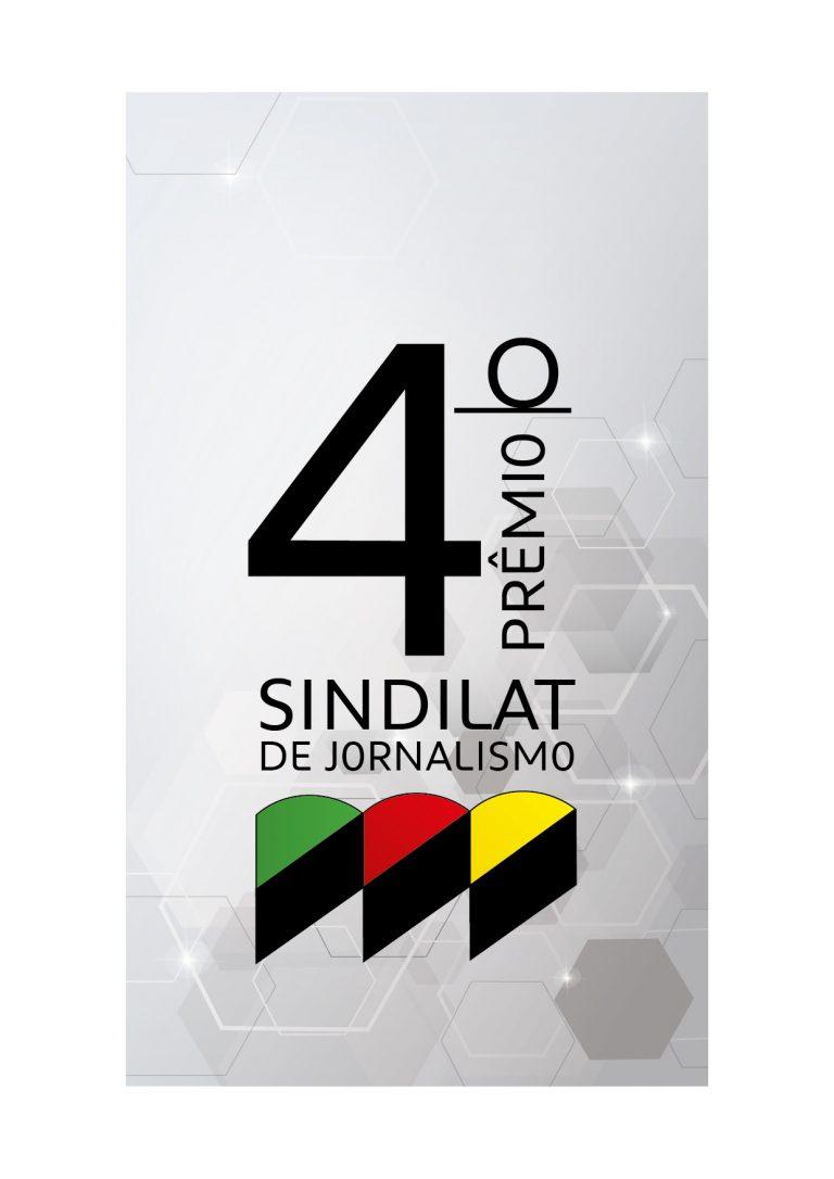 Abertas inscrições para o 4º Prêmio Sindilat de Jornalismo