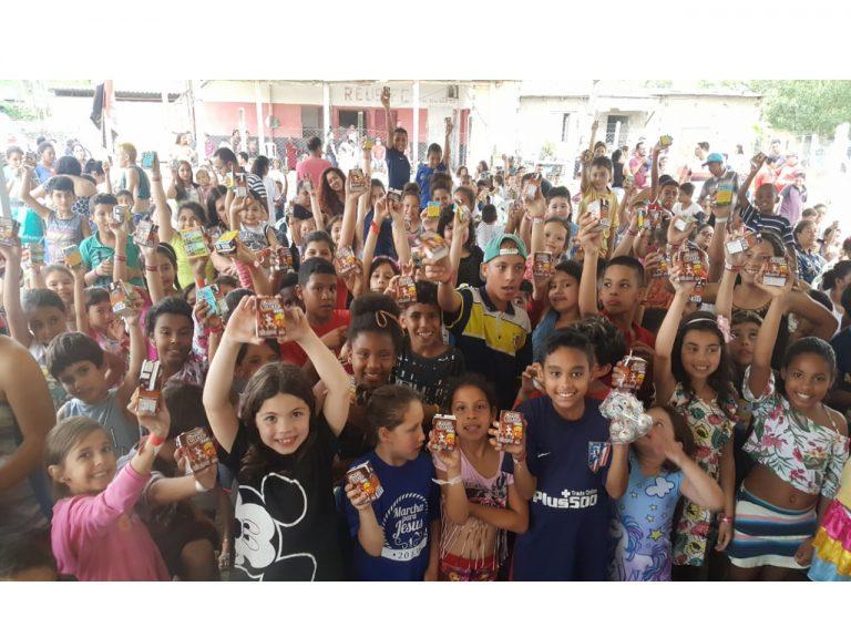 Réus Futebol Clube, de Viamão, promove evento para 350 crianças com o apoio do Sindilat