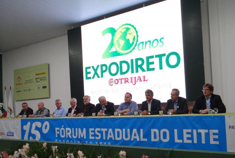 Fórum Estadual do Leite expõe os desafios do setor leiteiro no Brasil