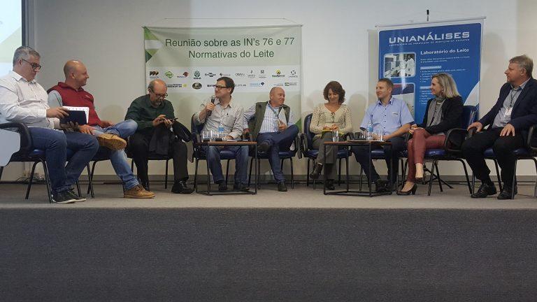 INs 76 e 77 são tema de debate do setor leiteiro em Lajeado