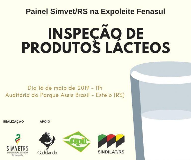 Entidades debatem sobre a inspeção de produtos lácteos na Fenasul