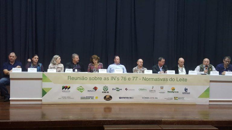 Sexto debate sobre as Instruções Normativas do Leite é realizado em Ijuí