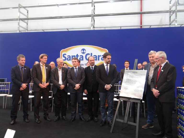 Santa Clara inaugura nova unidade em Casca