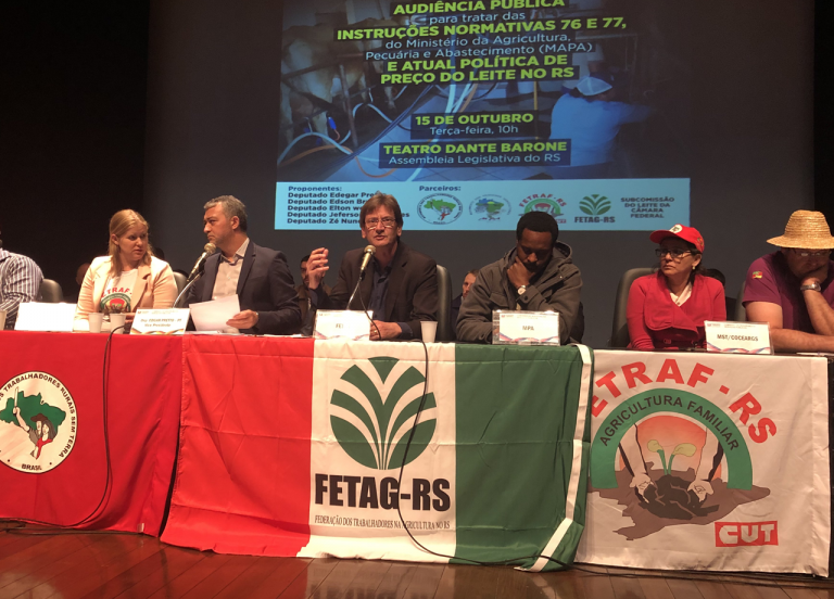 Audiência pública debate a produção de leite e seus gargalos no Rio Grande do Sul