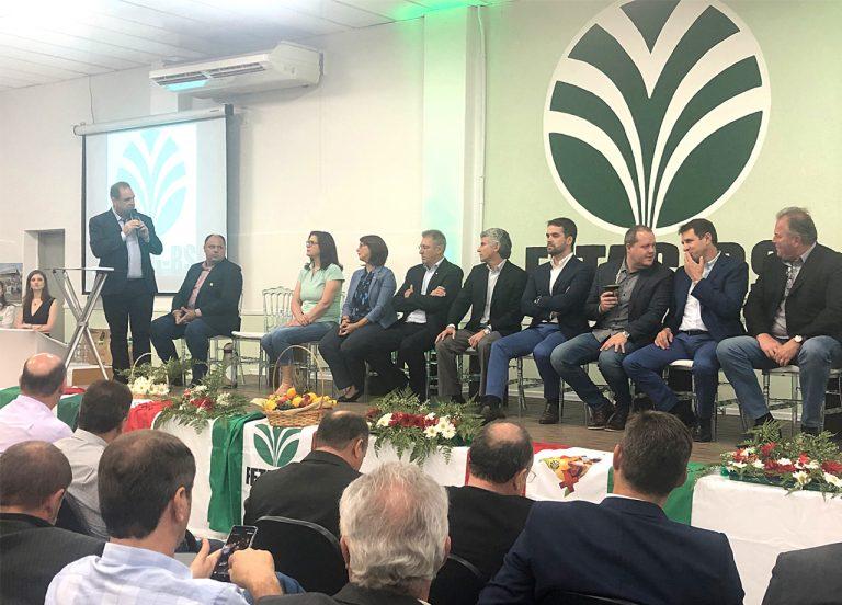Carlos Joel é empossado presidente da Fetag-RS para 2020/2024