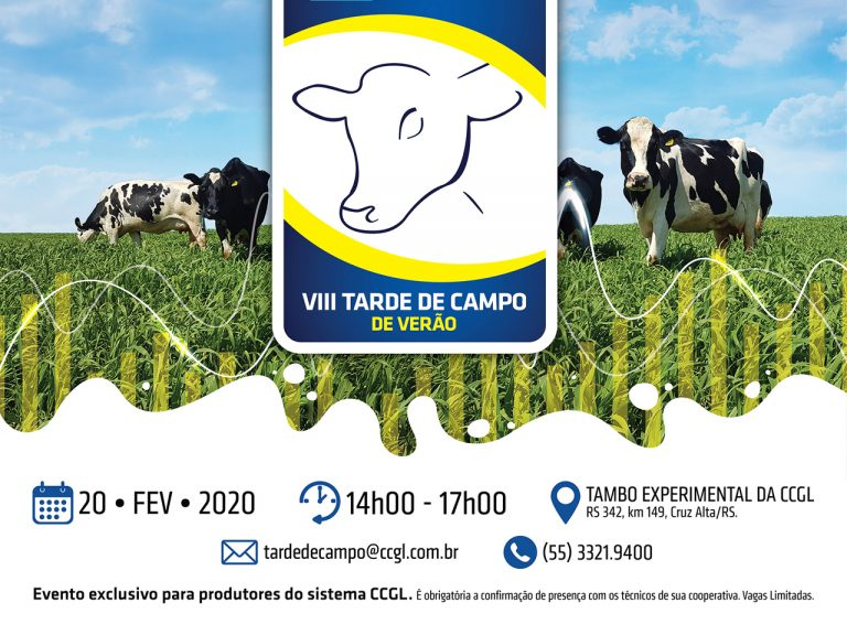 CCGL promove VIII Tarde de Campo em Cruz Alta