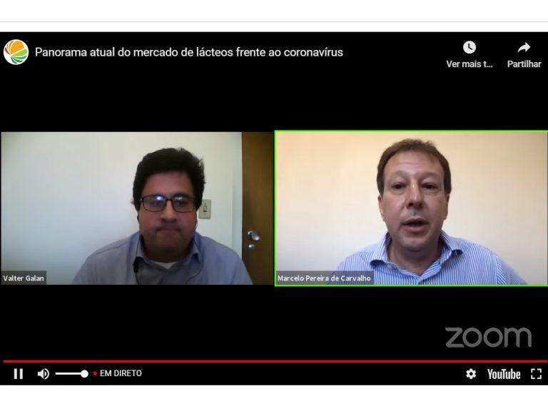 Covid-19 muda consumo de lácteos no Brasil e setor internacional chama atenção
