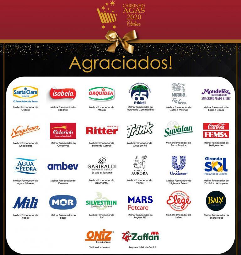Associados do Sindilat serão agraciados com o prêmio Carrinho Agas 2020