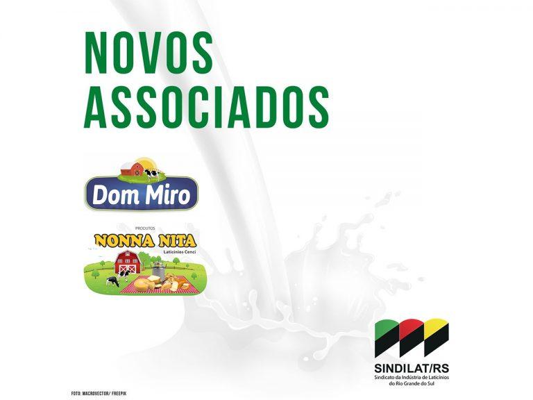 Laticínios Cenci e Dom Miro são os novos associados do Sindilat