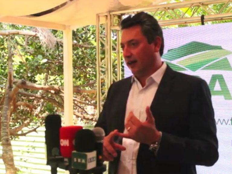 Sérgio Souza assume a Frente Parlamentar da Agropecuária em 2021