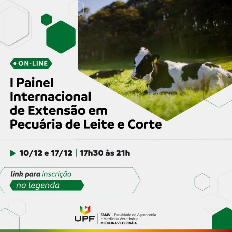 Painel internacional debaterá a pecuária de leite e corte e a sucessão familiar