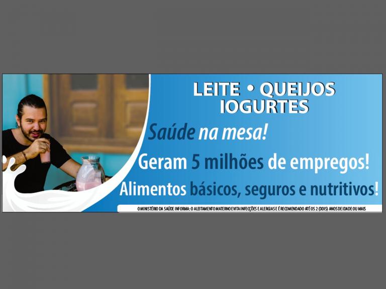 Sindilat integra ação publicitária com foco na importância dos lácteos na economia brasileira