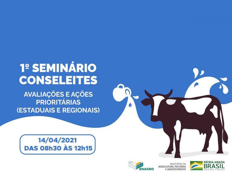 1 ° Seminário Conseleites pretende difundir e incentivar implantação do colegiado em outras regiões do país